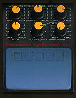 Boss Percussion Synthesizer PC-2